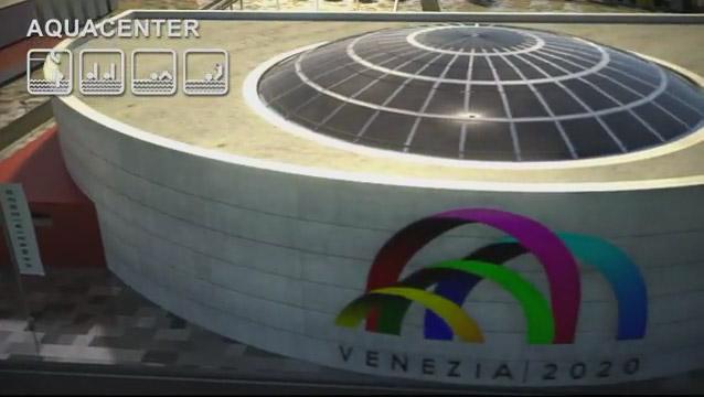 venezia 2020, olimpiadi, aquacenter