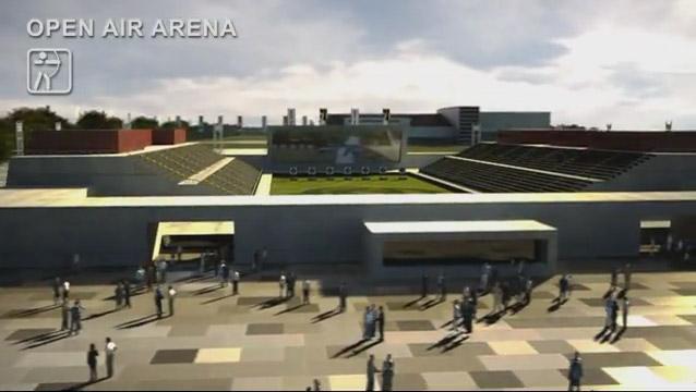 venezia 2020, olimpiadi, open air arena