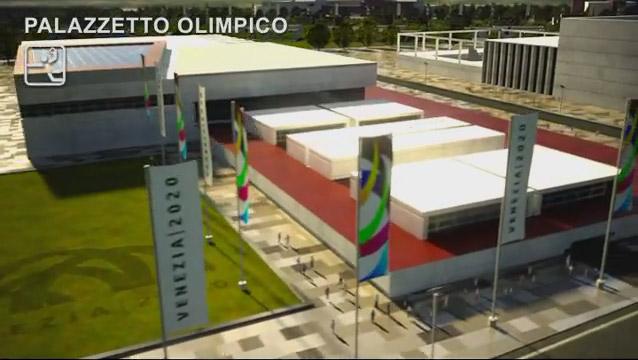 venezia 2020, olimpiadi, palazzetto olimpico