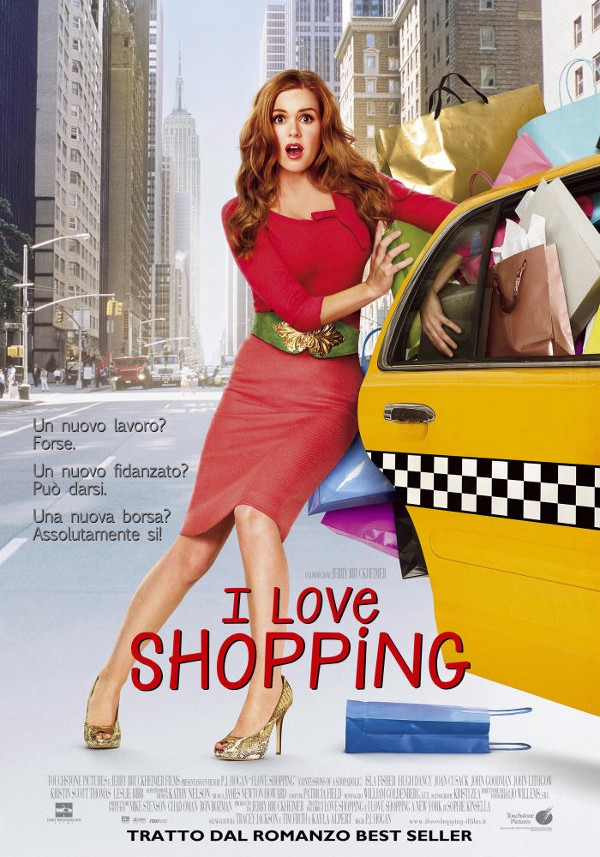 i love shopping, poster, locandina, film