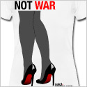 high heels shoes t-shirt