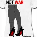 high heels shoes t-shirt