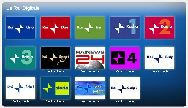 canali rai digitale terrestre