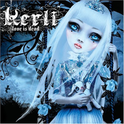 kerli, love is dead, cd cover
