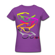 glasses, tshirt