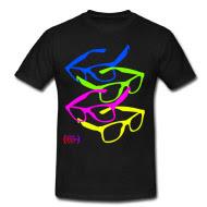 glasses, tshirt