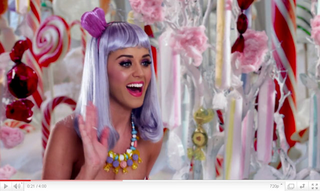 katy perry, california gurls, video