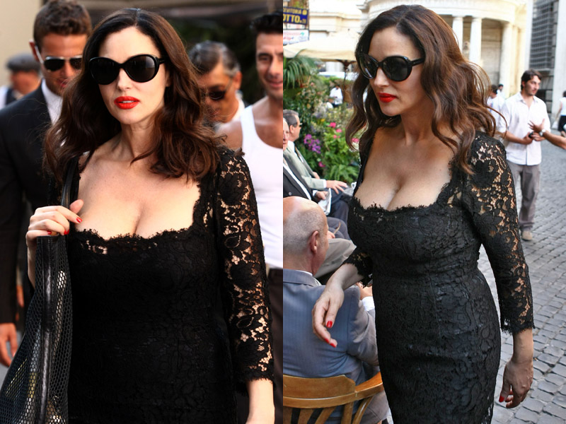 monica bellucci, spot martini gold