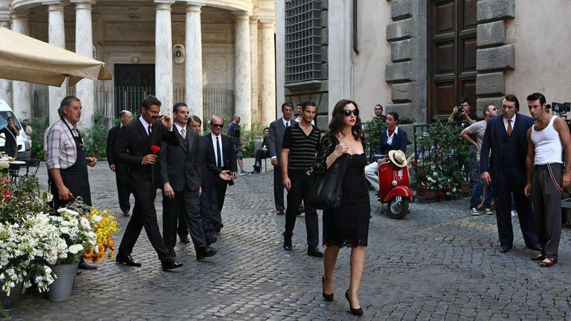 monica bellucci, spot martini gold