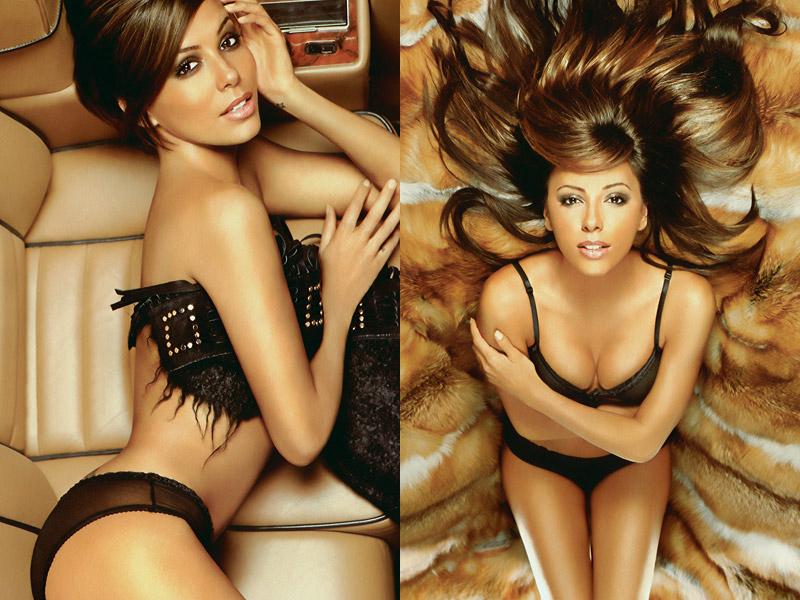 eva longoria, sexy, magazine photoshoot