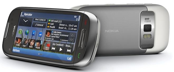 nokia c7 2010