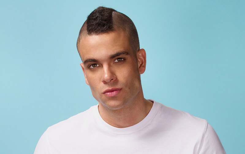 glee, mark salling, puck