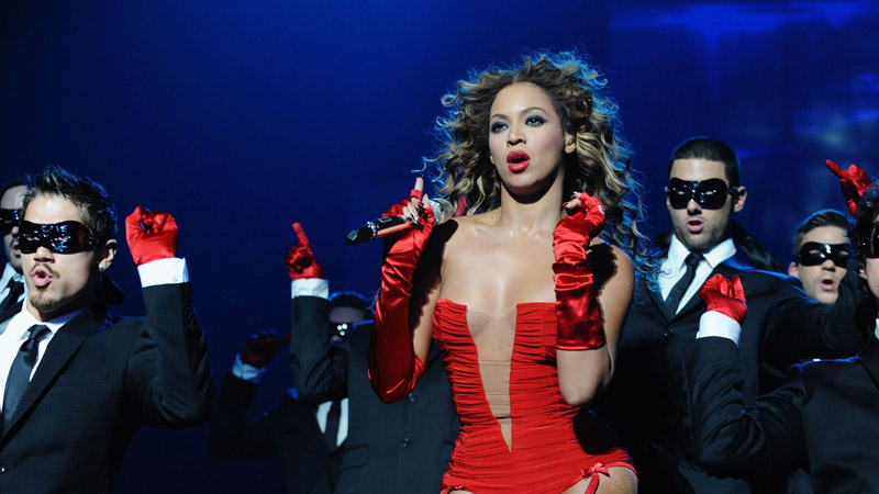 beyoncé, live at mtv ema's 2009