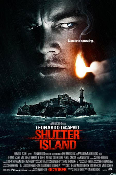 shutter island, film, poster, locandina