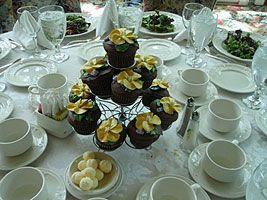 cupcake centre piece