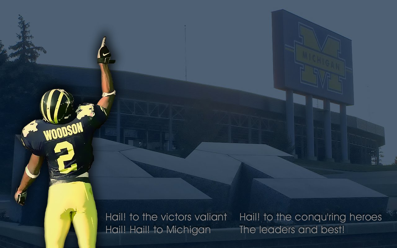 Spawn of MZone: Wallpaper Wednesday : Hail Charles Woodson