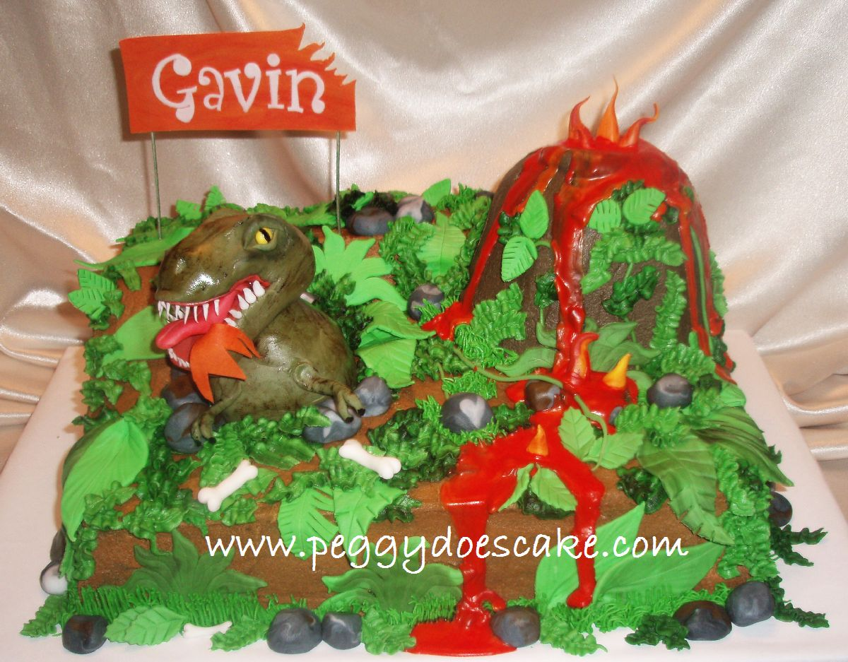 Peggy Does Cake T Rex Cake Rawr Click Photos To Enlarge
