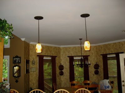 christy 39 s thrifty decorating changing your high hat lights into hanging