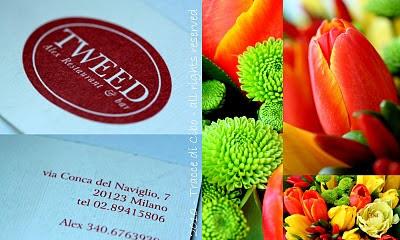 ristoranti, milano, tweed, pesce, fiori