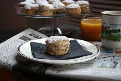 scones, colazione, cioccolato