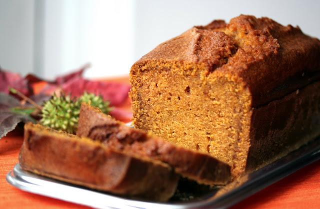 pumpink bread, hallowen, zucca, dolci americani
