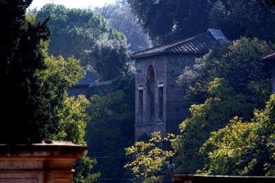 giardino villa borghese