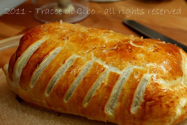 filetto alla wellington, filetto in crosta, pasta sfoglia