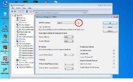 how to find usb port number in windows 7