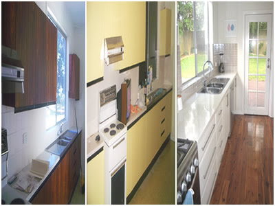 before and after makeovers pictures. Kitchen Makeover: Before and