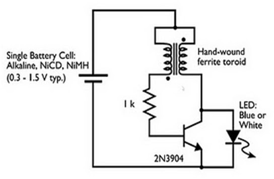 tutorial on building a joule thief