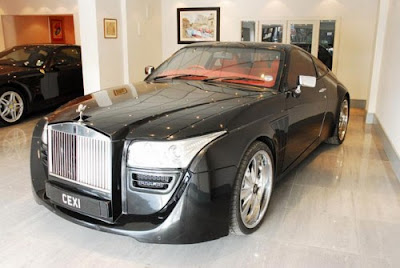 Black Ruby Rolls Royce Coupe Pictures