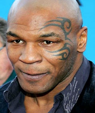 Mike Tyson's Tattoo's especially