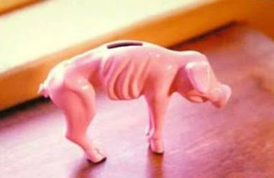 piggy bank for financial crisis