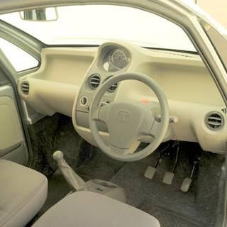 Worlds Cheapest Car : Tata Nano interior