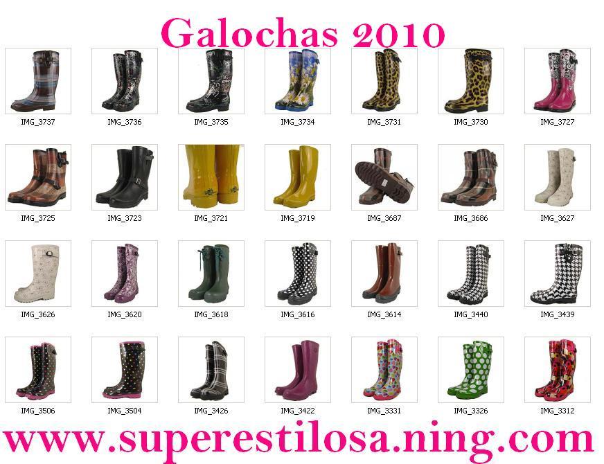 Galochas 2010 escolha a sua!