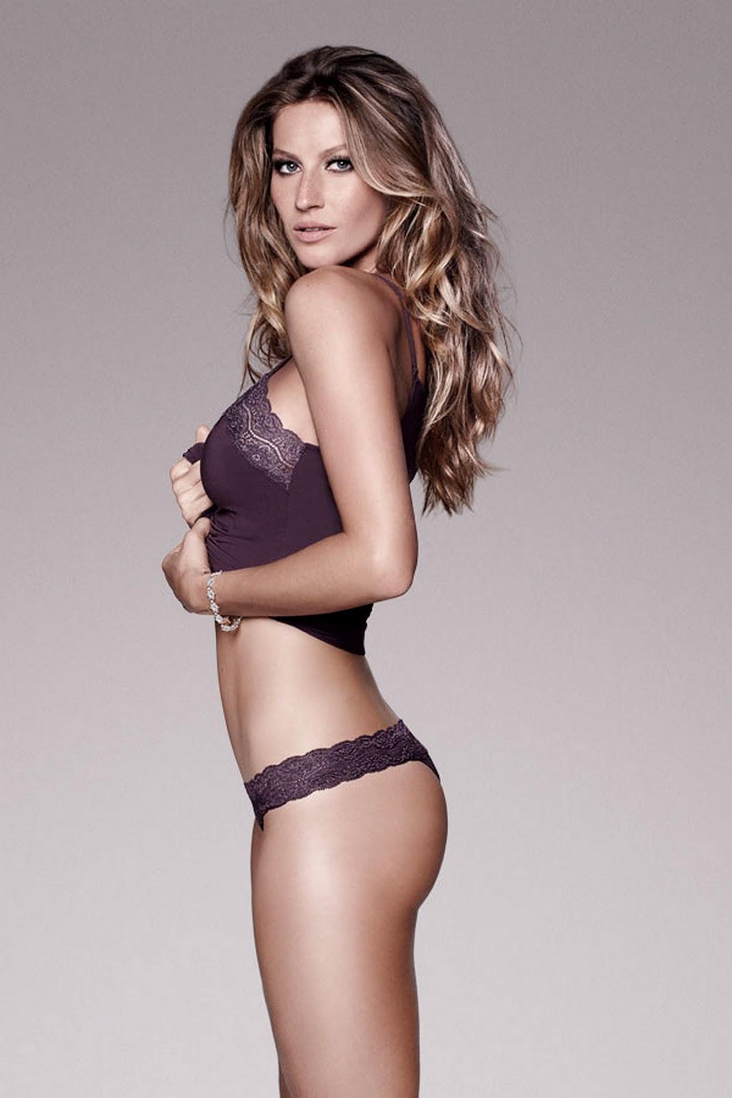 beautiful girls: Gisele Bündchen Lingerie Pictures Remind ...