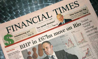The Financial times, full of information on Technical PR, Engineering PR, Industrial PR, Manufacturing PR and Electronics PR. You know it is!