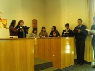 Integrantes del coro