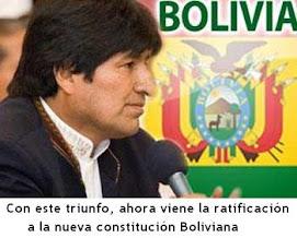 Gana el Pueblo de Bolivia y Latino América toda
