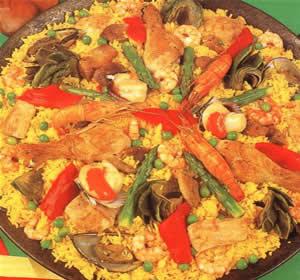 Recetas De Cocina Española Paella Valenciana   Paella A La Valenciana Recetas De Cocina Diarias Gratis Y