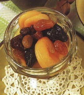 Compota de frutos secos