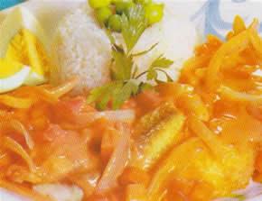Pescado en salsa marinera recetas de cocina diarias for Hacer salsa marinera