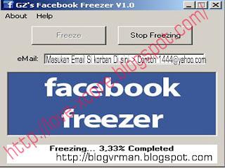 Core: Cara Hack Facebook Dengan Menggunakan Gz's Facebook Freezer V1