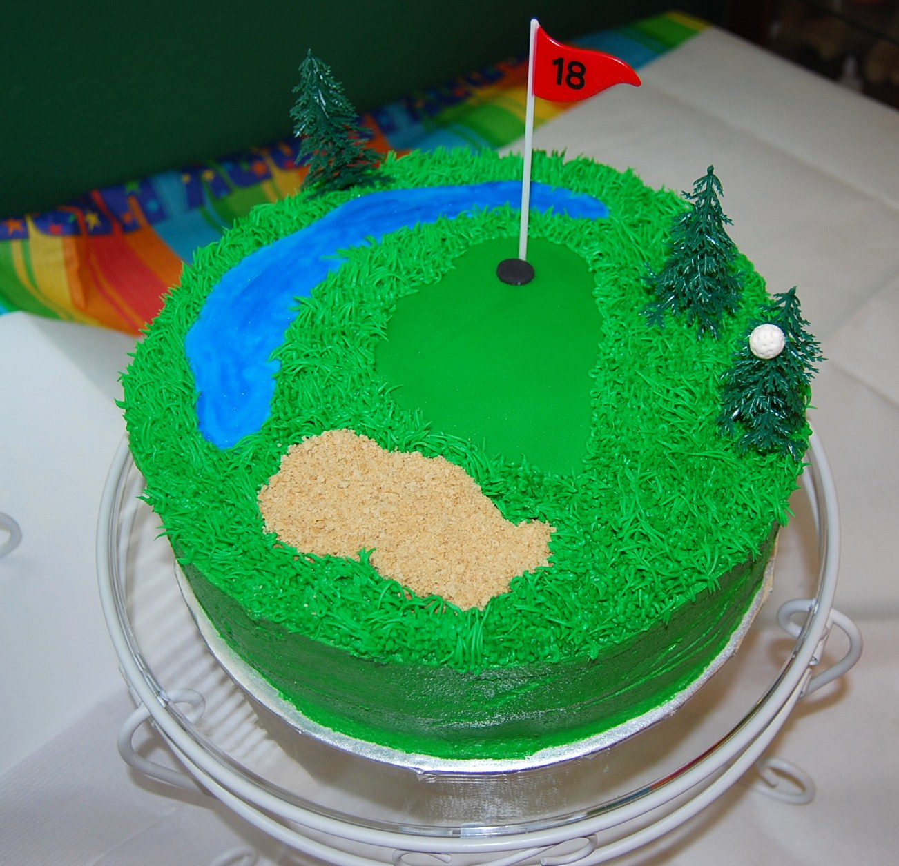 Cake Images Golf : Creative Cakes By Rochelle: Golf Cake