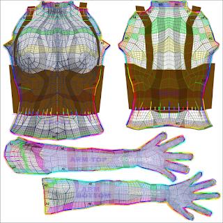 chip midnight templates - seshat czeret fantasy medieval clothing brigid set