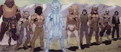 Los indios creían en un dios supremo, Manitu