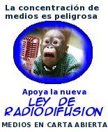 Aparición con vida de la información, desaparecida con la Ley de Radiodifusión (cumpa MauriK).