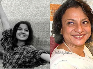 kajol mother tanuja while acting: kajold.blogspot.com Indian top stars childhood teen age and marriage photos