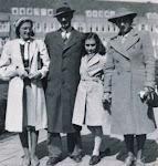 La Familia Frank, 1941