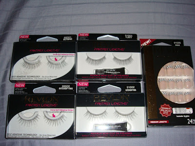 Revlon Fantasy Lengths Lashes & Runway Collection Nails;